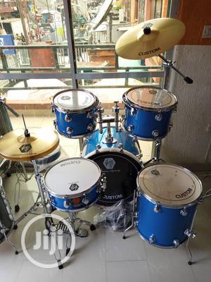 Original Virgin Custom Uk 5pcs Drum Set Available | Musical Instruments & Gear for sale in Lagos State, Ojo