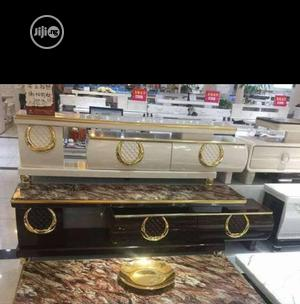 PREMIUM LUXURY TV STAND,Very Strong/Long. Lasting.   Furniture for sale in Lagos State, Ojodu