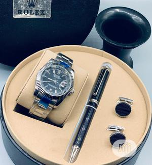 Rolex Oyster Perpetual Silver Chain/Pen and Cufflinks   Watches for sale in Lagos State, Lagos Island (Eko)