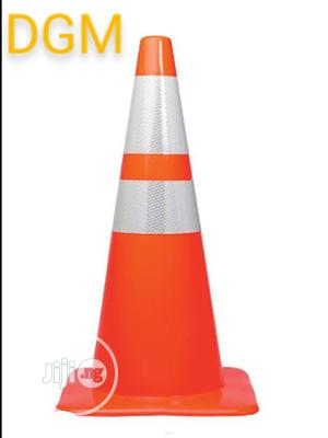 PVC Cones With Reflective 100cm   Safetywear & Equipment for sale in Lagos State, Ikeja