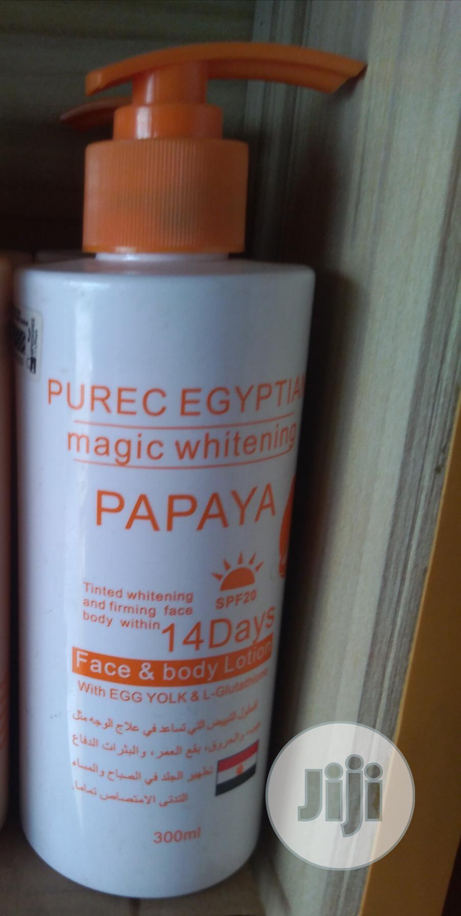 Purec Egyptian Magic Whitening Lotion Papaya