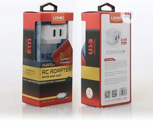 LDNIO 5V 2.4A Travel Dual 2 USB Charger | Accessories & Supplies for Electronics for sale in Lagos State, Ikeja
