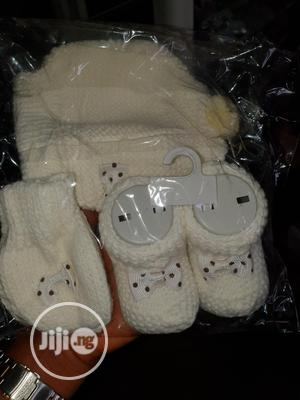 Set Of Booties,Socks N Cap For Babies   Children's Clothing for sale in Lagos State, Amuwo-Odofin