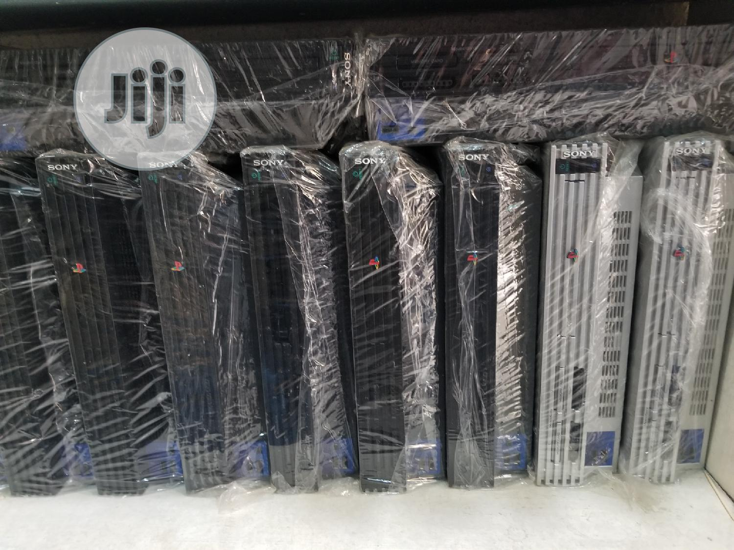 Playstation 2 ( Ps2) Console   Video Game Consoles for sale in Ikeja, Lagos State, Nigeria