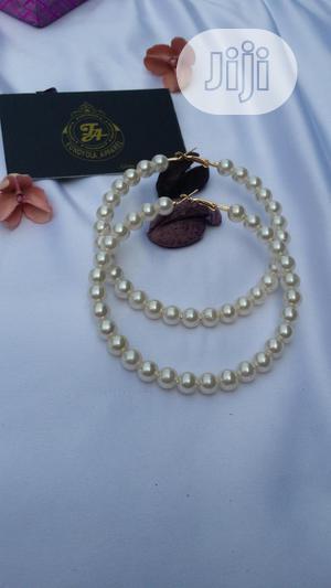 Pearl Loop Earring   Jewelry for sale in Lagos State, Ajah
