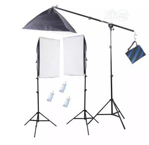 Studio Light Soft Box And Boomstand Light 3pcs In 1 Set.   Accessories & Supplies for Electronics for sale in Lagos State, Lagos Island (Eko)