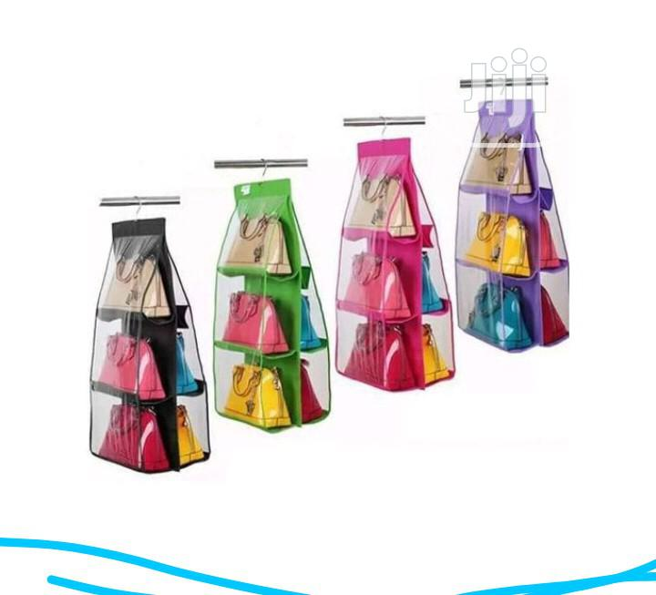 Archive: Portable And Foldable Hand Bag Hanger Rack