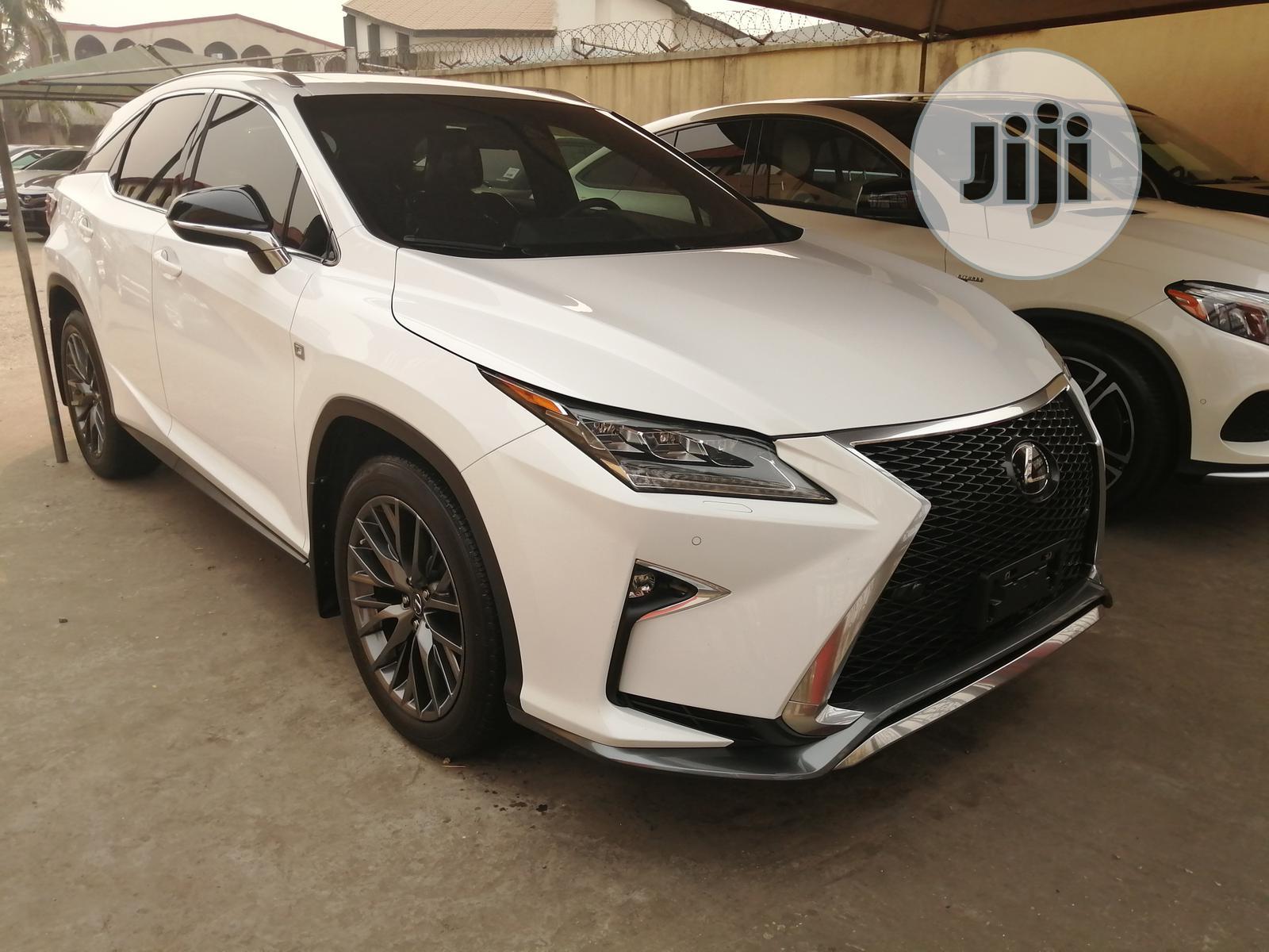 Lexus RX 2018 White | Cars for sale in Apapa, Lagos State, Nigeria