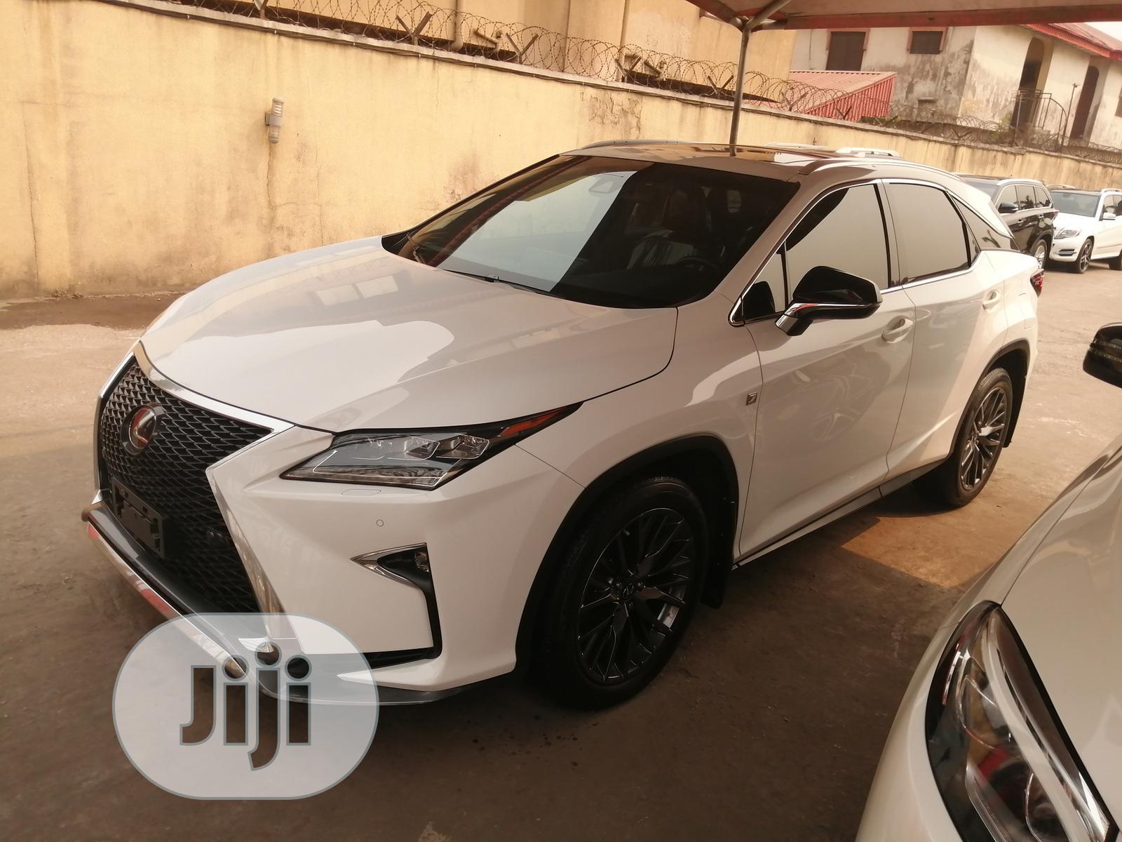 Lexus RX 2018 White