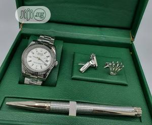 Rolex Oyster Perpetual Silver/Pen and Cufflinks   Watches for sale in Lagos State, Lagos Island (Eko)