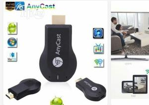 Anycast M4 Plus Airplay Wifi Display Anycast TV HDMI Multi-display | Accessories & Supplies for Electronics for sale in Lagos State, Ikeja