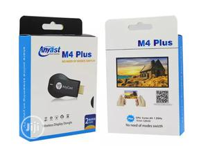 Anycast M4 Plus Airplay Wifi Y Anycast TV HDMI Multi-Display | Accessories & Supplies for Electronics for sale in Lagos State, Ikeja