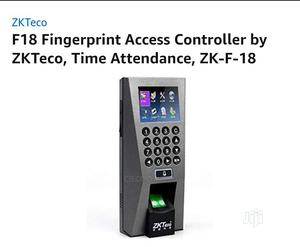 Zkteco F18 Access Control Biometric Fingerprint Device | Computer Accessories  for sale in Lagos State, Ikeja