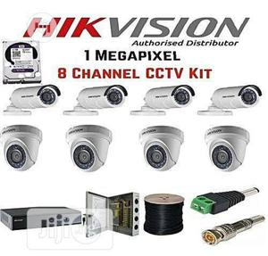 Hikvision CCTV Camera 8CH Combo Kit   Security & Surveillance for sale in Lagos State, Ikeja