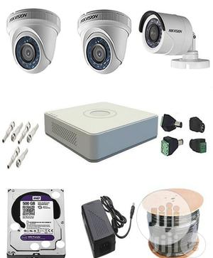 Hikvision CCTV Camera 4ch Combo Kit   Security & Surveillance for sale in Lagos State, Ikeja