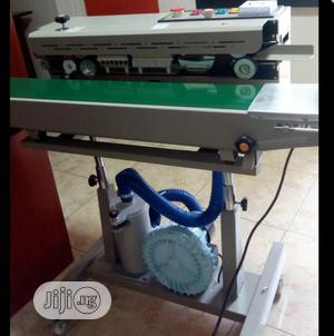 Vertical Continuous Band Sealing Machine With Hot Air Nitrogen | Manufacturing Equipment for sale in Lagos State, Ojo