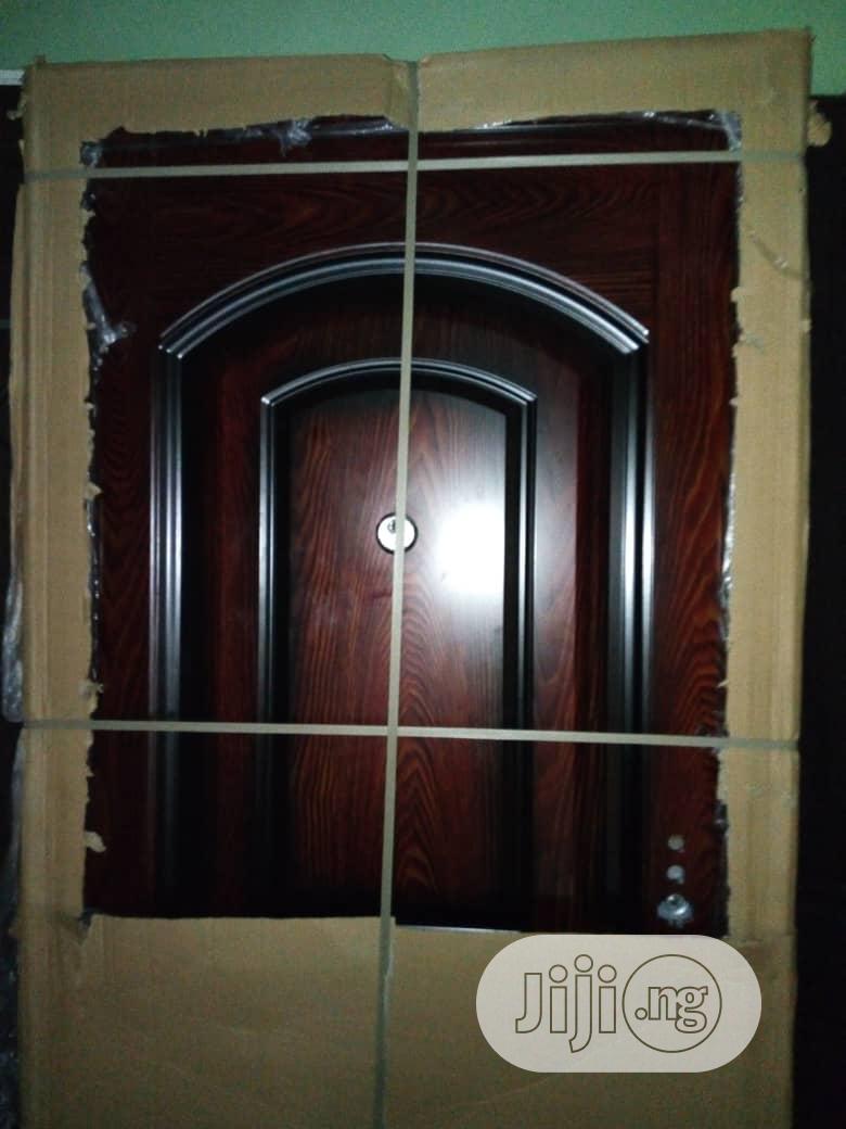 Archive: Stainless Steel Security Door
