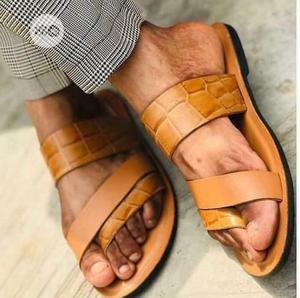 Handmade Slippers For Men | Shoes for sale in Lagos State, Agboyi/Ketu