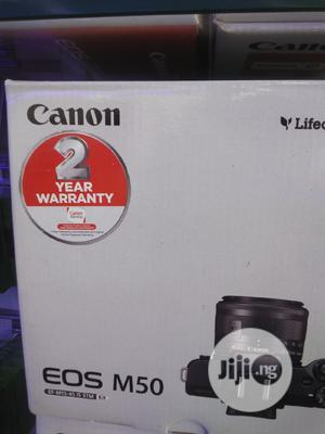 Professional Canon Camera M50 | Photo & Video Cameras for sale in Lagos State, Ikeja