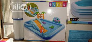 Children Swimming Pool With Slide Fun | Toys for sale in Lagos State, Surulere