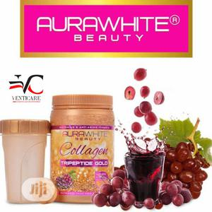 Aurawhite Beauty Collagen Tripeptide Gold 900G | Vitamins & Supplements for sale in Lagos State, Ojo