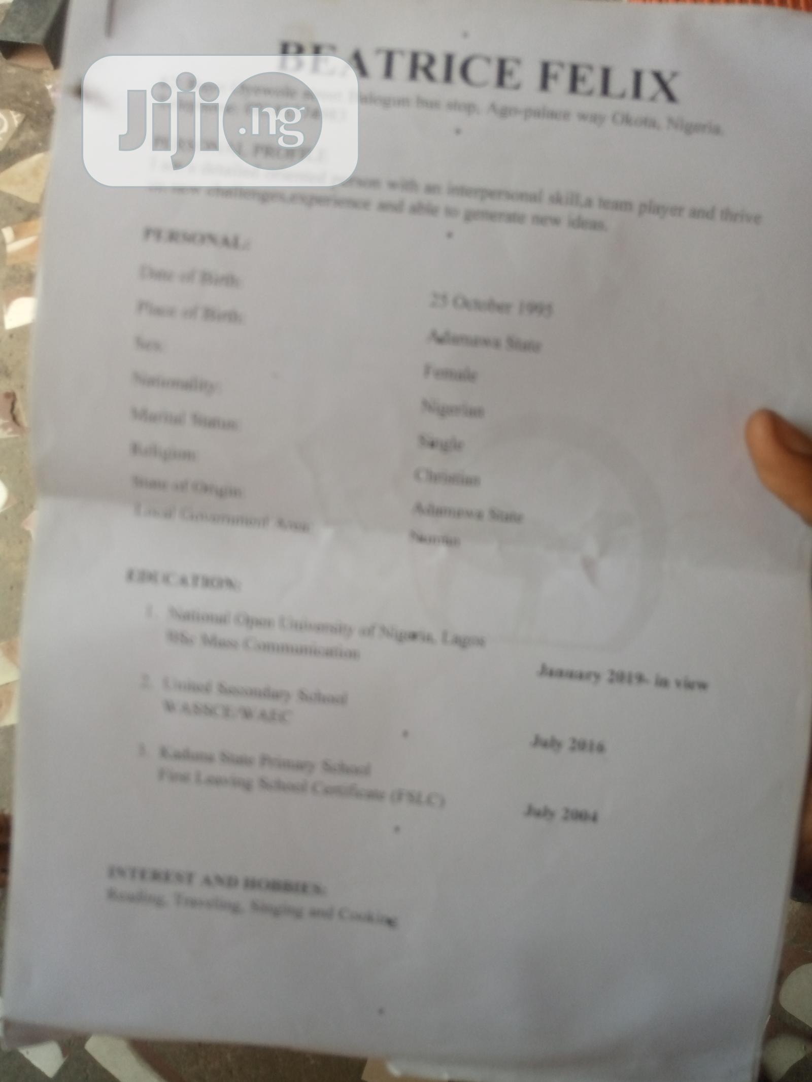 Female Model Job | Sales & Telemarketing CVs for sale in Isolo, Lagos State, Nigeria
