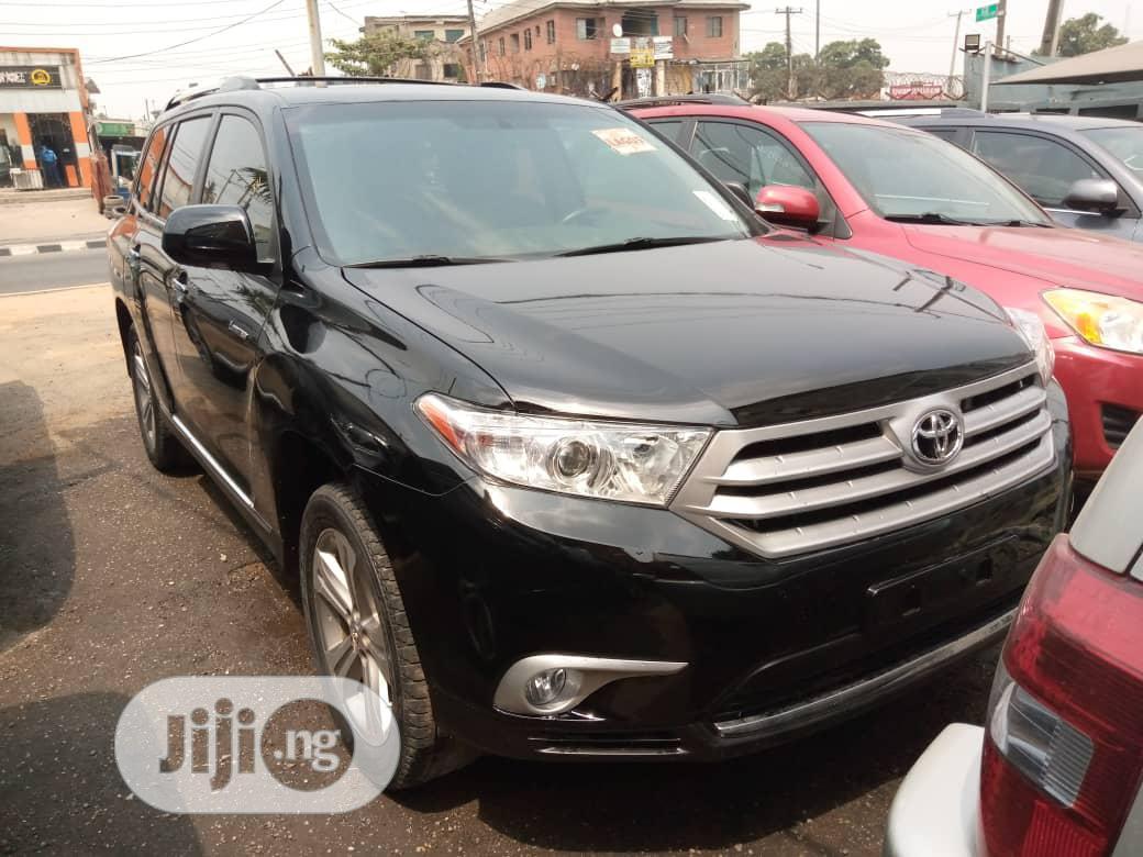 Toyota Highlander 2013 Limited 3.5l 4WD Black   Cars for sale in Ikeja, Lagos State, Nigeria