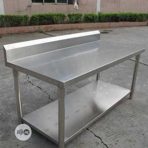 Stainless Steel 5fit Work Table   Restaurant & Catering Equipment for sale in Lagos State, Eko Atlantic