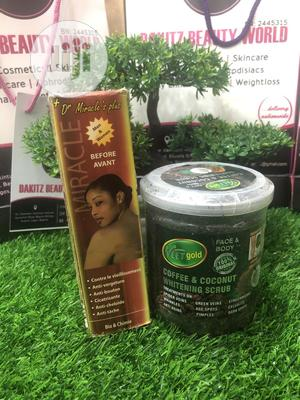 Dr Miracle Green Vein Oil & Spider Vein Coffee Scrub   Skin Care for sale in Lagos State, Ikotun/Igando