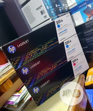 Genuine Hp Toner Cartridge 201a Colors   Accessories & Supplies for Electronics for sale in Lagos State, Apapa