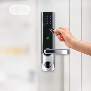 TL400B Fingerprint Biometric Door Lock With Digital Keyless Bluetooth | Doors for sale in Lagos State, Ikeja