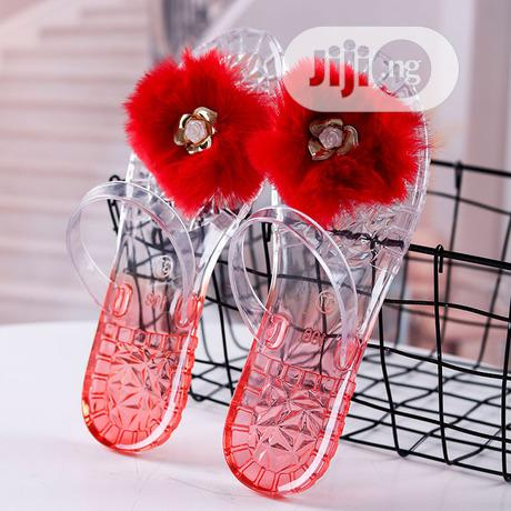 Flip Flop Transparent Jelly Slippers | Shoes for sale in Port-Harcourt, Rivers State, Nigeria