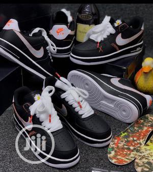 Nike Air Force 1 Black Sneakers   Shoes for sale in Lagos State, Surulere