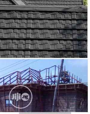 Bond 0.55mm New Zealand Tilcor Stone Coated Gerard Roof | Building Materials for sale in Lagos State, Ojo