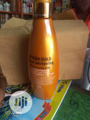 Caviar Gold Super Whitening Body and Face Lotion   Skin Care for sale in Lagos State, Amuwo-Odofin