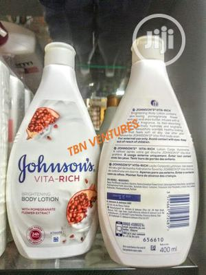 JOHNSON'S Vita-Rich Brightening Body Lotion -400ml   Skin Care for sale in Lagos State, Amuwo-Odofin