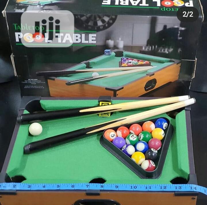 Portable Snooker Set