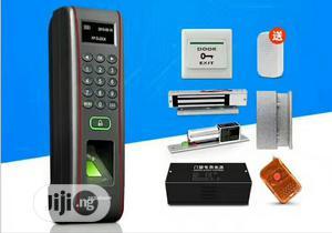 Waterproof Fingerprint Door Access Control Kit +Lock+ Power Supply | Doors for sale in Lagos State, Ikeja