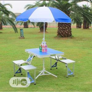 Outdoor Foldable Picnic Table And Chair   Garden for sale in Lagos State, Oshodi