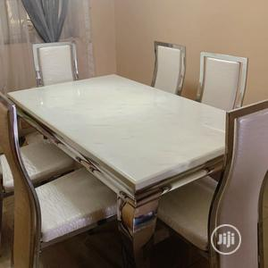 Ideal Marble Dining Table Set | Furniture for sale in Lagos State, Ibeju