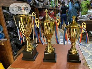 Set Of Award Trophy (Gold) | Arts & Crafts for sale in Lagos State, Ikeja
