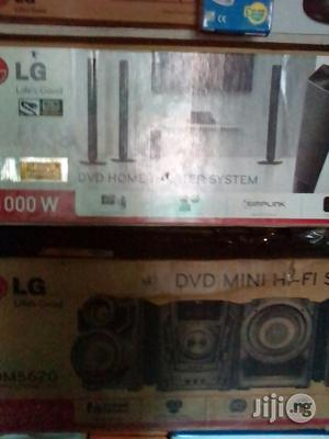 LG Home Theater and Four Standing Speakers | Audio & Music Equipment for sale in Lagos State