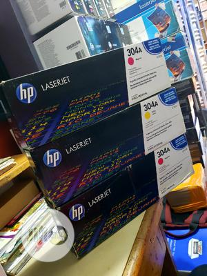 Genuine Hp Toner Cartridge 304a Colors   Accessories & Supplies for Electronics for sale in Lagos State, Ikeja