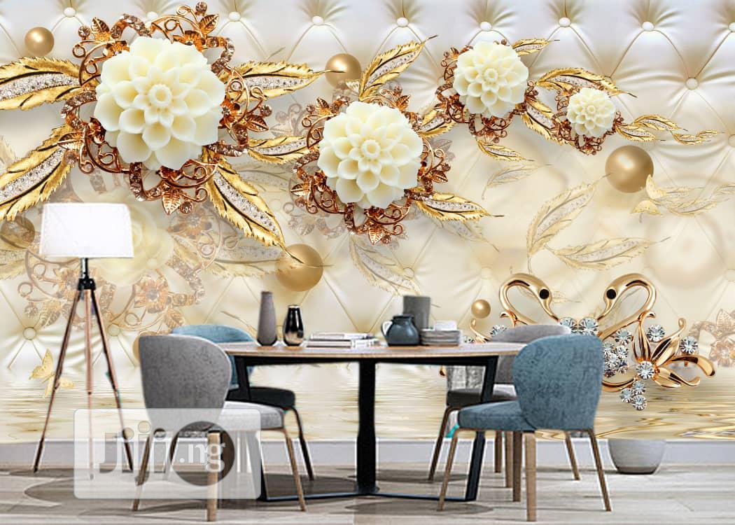 Wallpaper 3d Panel/ Mural