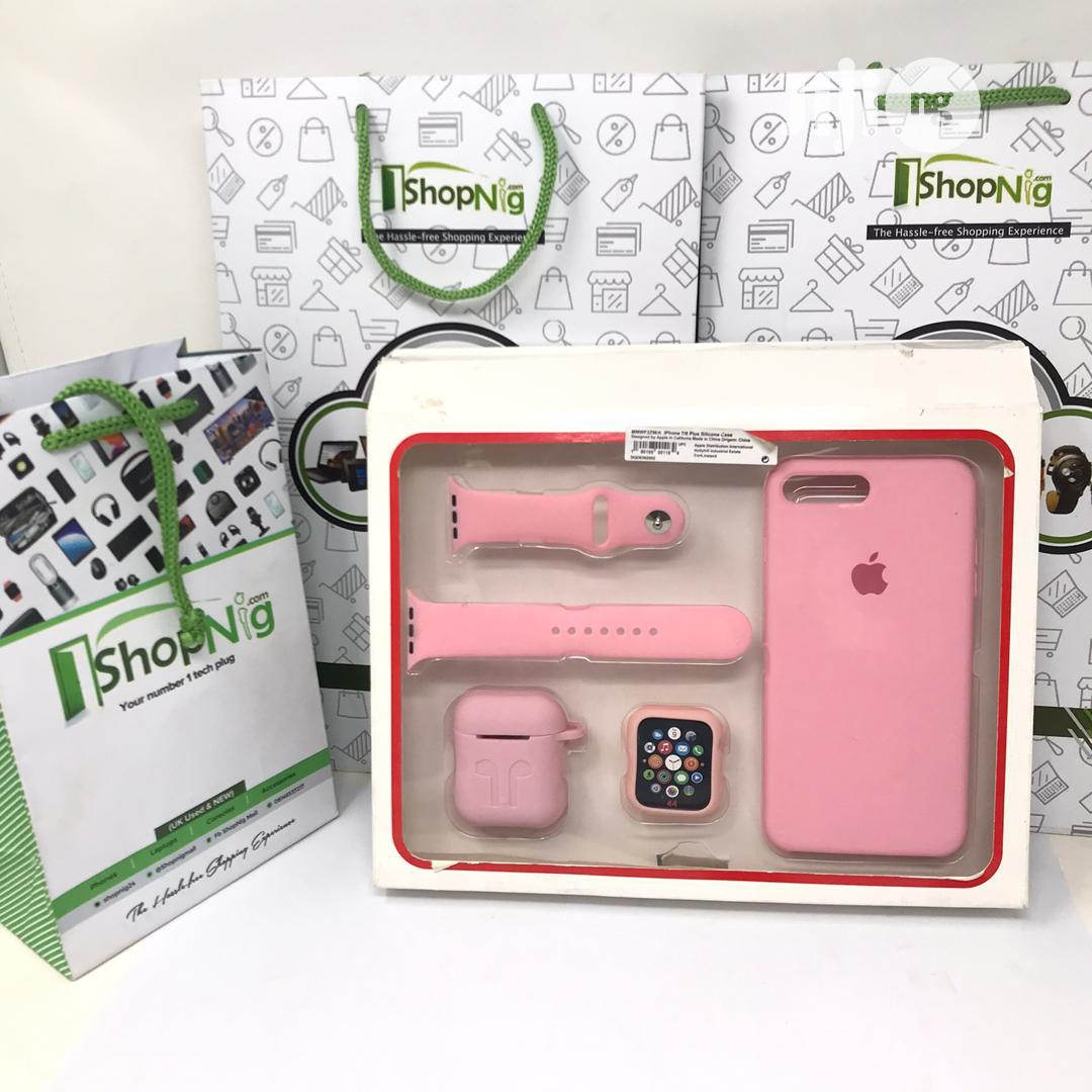 Silicon Case Set For iPhone 7plus And 8plus | Accessories & Supplies for Electronics for sale in Ibadan, Oyo State, Nigeria