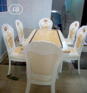 Affordable Marble Dining Table With Six Chairs | Furniture for sale in Lagos State, Lekki