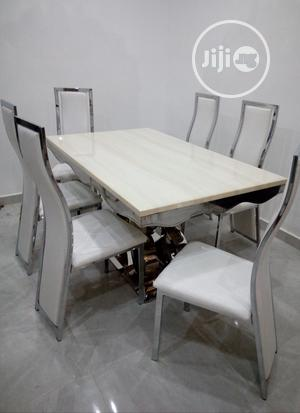 Affordable Marble Dining Table | Furniture for sale in Lagos State, Ikorodu
