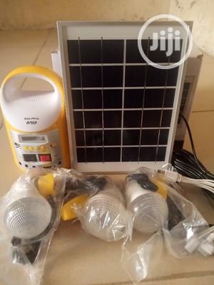 Solar Generator With 3 Bulbs Salpha Bass Solar Kit   Solar Energy for sale in Oyo State, Ibadan