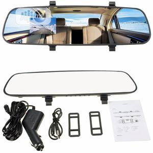 HD 2.7'' 1080P Car DVR Rearview Mirror Camera | Vehicle Parts & Accessories for sale in Lagos State, Ikoyi