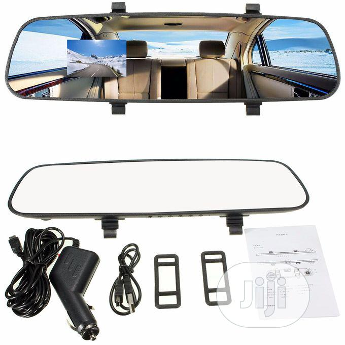 Dual Lens Car Rear View Mirror Camera Video Recorder Dash Cam   Vehicle Parts & Accessories for sale in Maryland, Lagos State, Nigeria